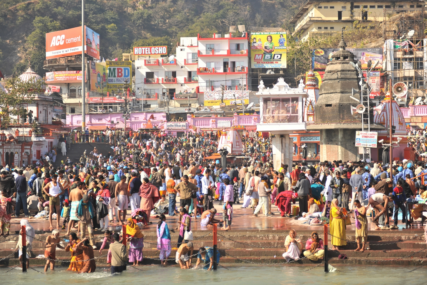 Kumbhamela,  Haridvar - 2010, January