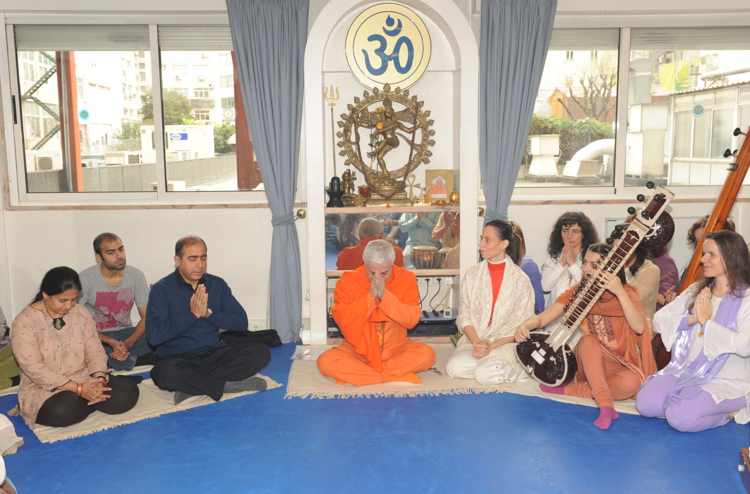 Visit of His Excellency Jitendra Natrh Misra - Ambassador of India in Portugal - at the Headquarters of the Portuguese Yoga Confederation, Lisboa – 2015