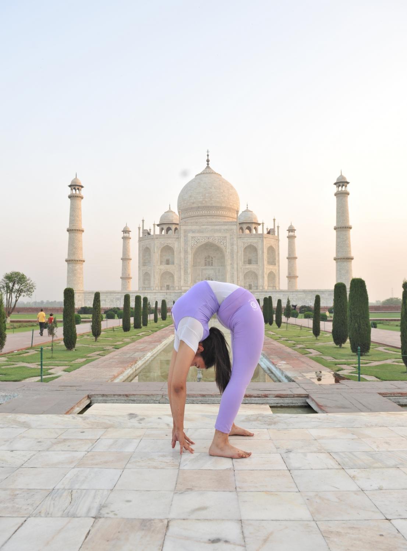Taj Mahal - 2011, Abril