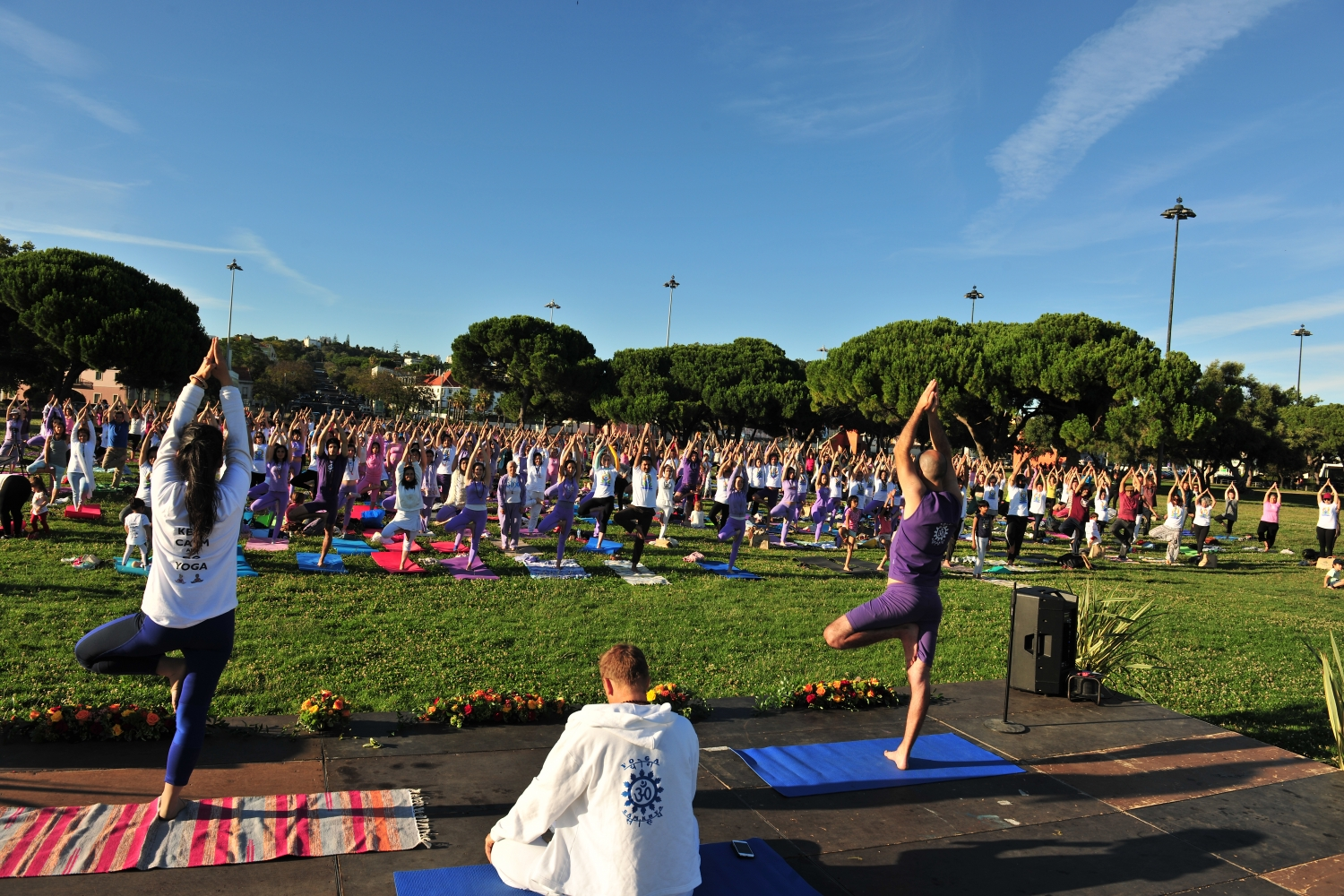 IDY - 2019, June, 21st - Belém - Common Protocol Yoga Class