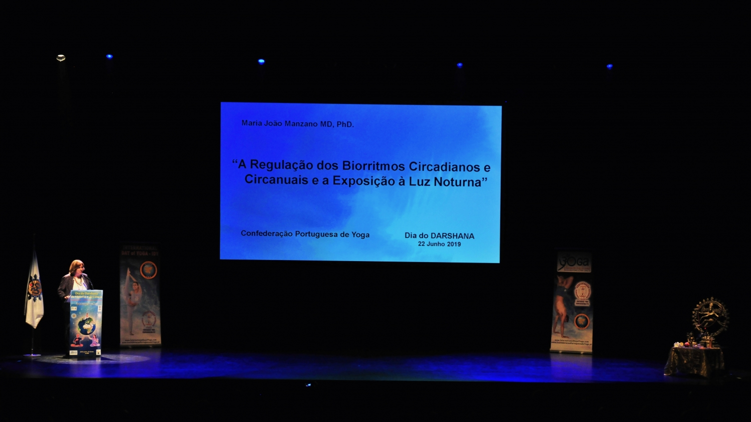 Lecture: 'The Regulation of the  Circadian and Circannual Biorythms and the Exposure to Night Light' - Maria João Manzano MD, PhD. Director of the Health Service of the Universitary Hospital Centre of  Central Lisboa