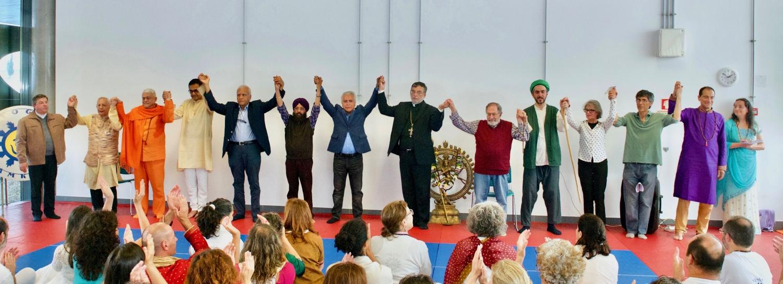 Representatives of the following Religions : Catholic, Guru Jí, Hindu, Sikh, Ismaili, Orthodox, Coptic, Sufi, Buddhist and Bahá'í Faith