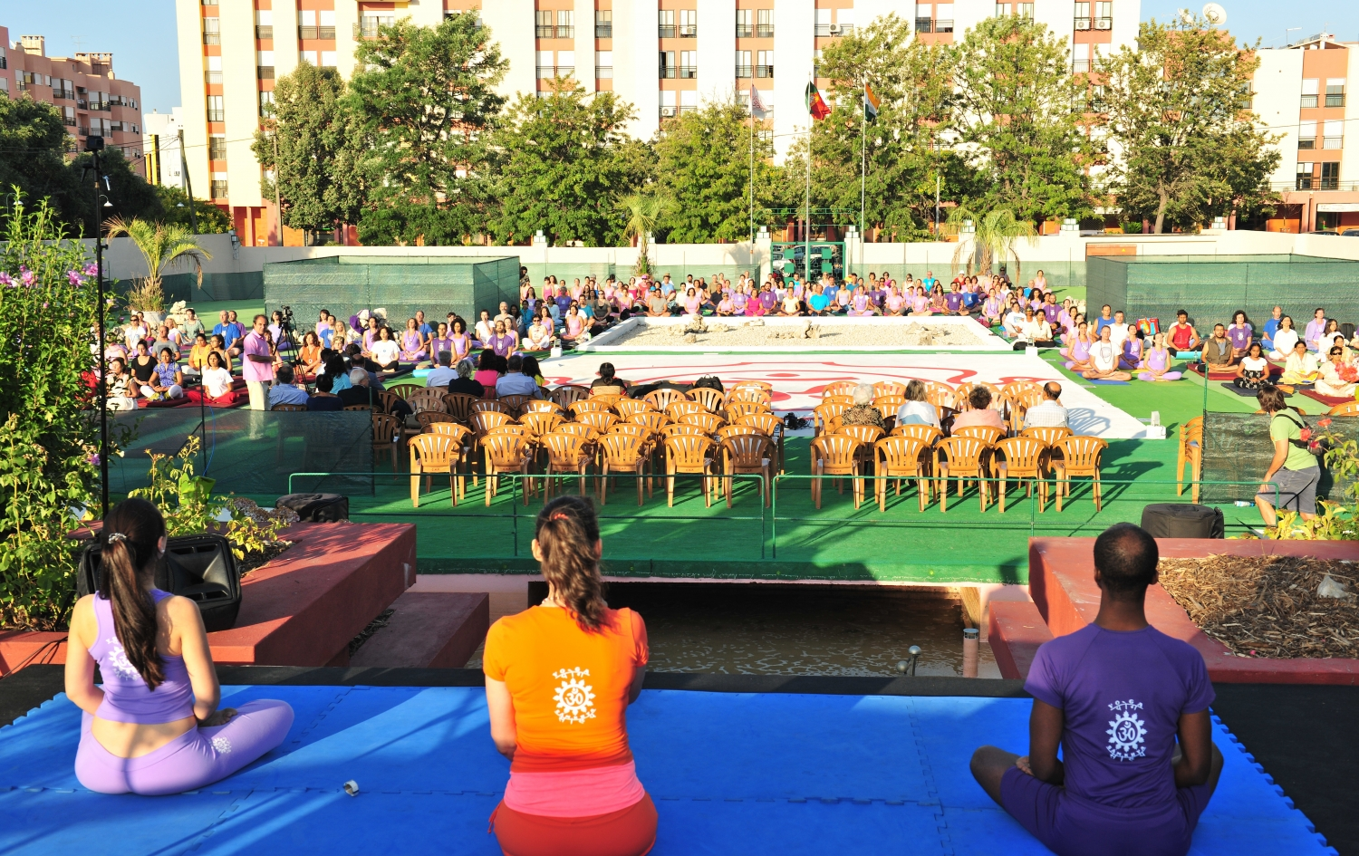 Conmemoración del International Day of Yoga - IDY / Día Internacional del Yoga - 2017 - Lisboa, Comunidad Hindú