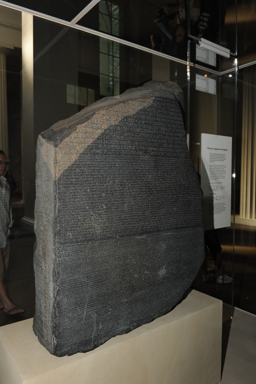 Pedra de Rosetta - British Museum - London