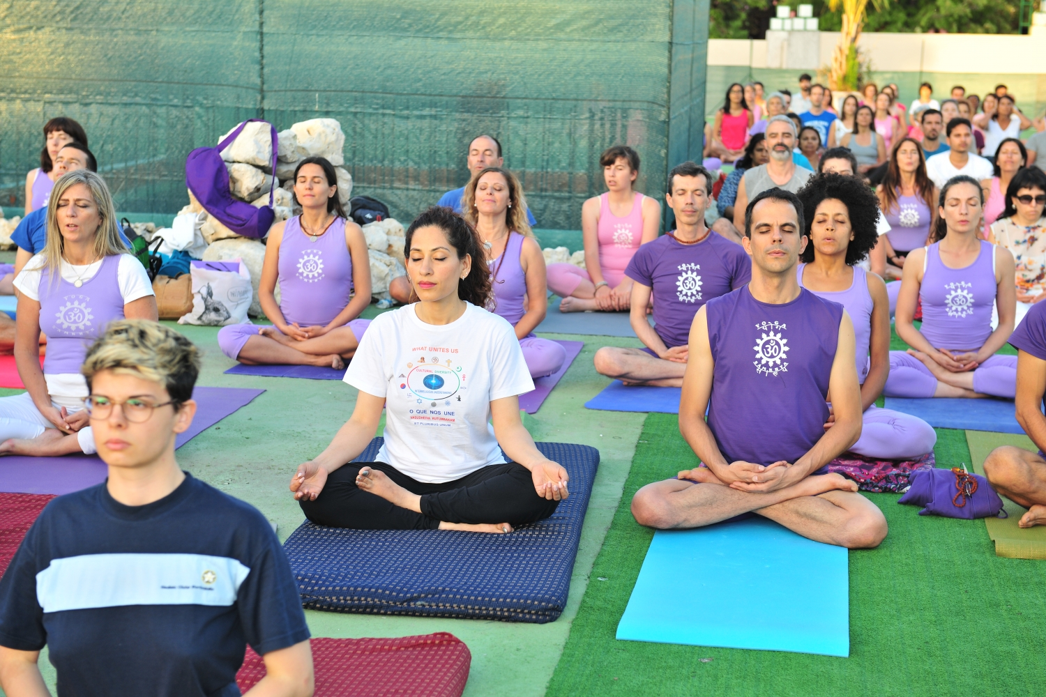 Comemoração do International Day of Yoga - IDY / Dia Internacional do Yoga - 2017 - Lisboa, Comunidade Hindu