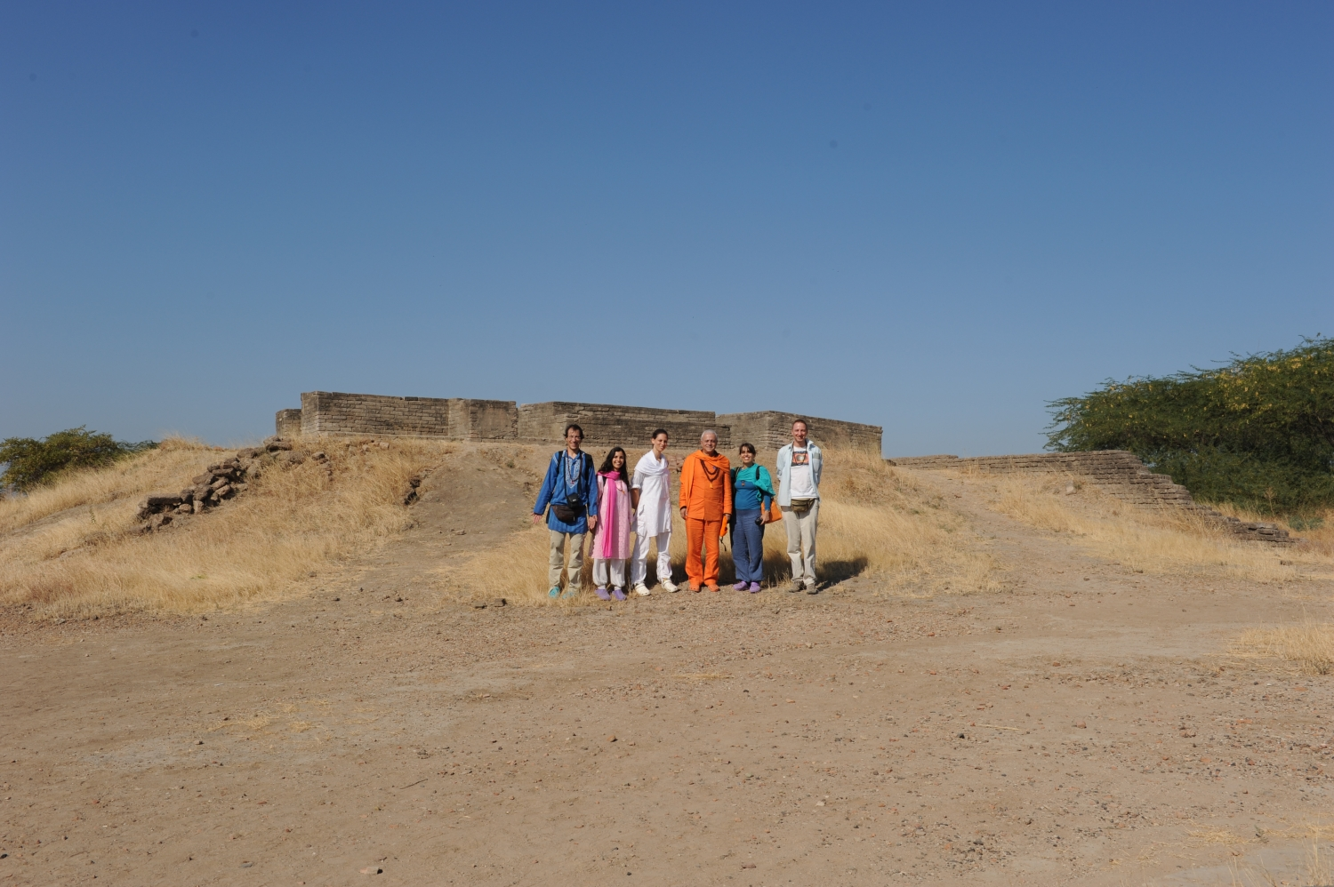 Archeological site of Lothal, India - 2012, December