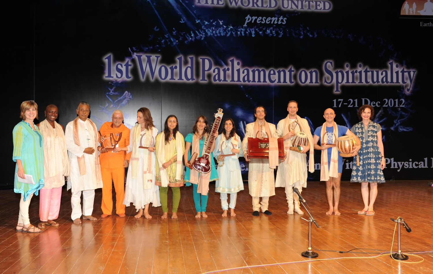 First World Parliament on Spirituality - Inde, Hyderabad - 2012, décembre