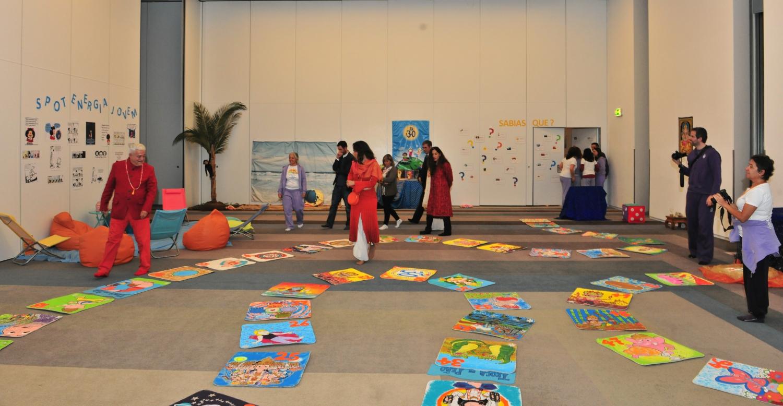 Sala do Yoga para crianças e adolescentes