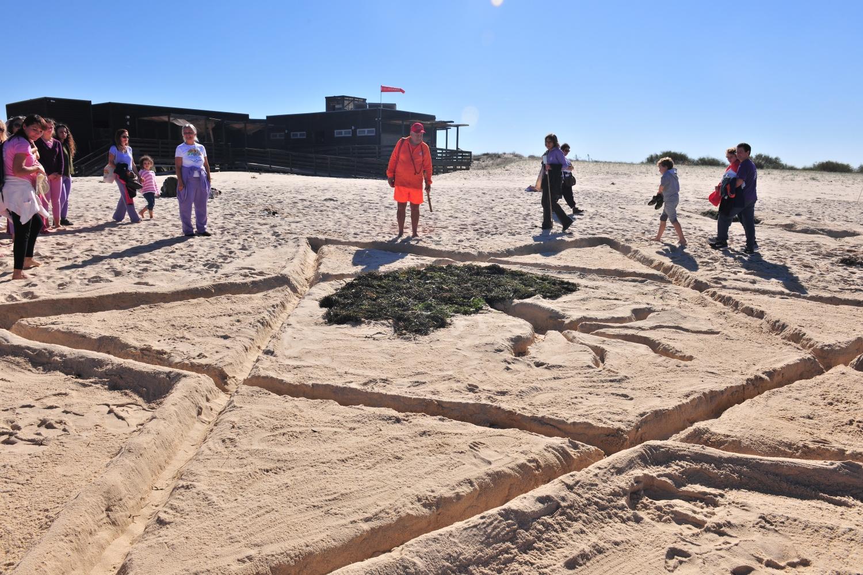 Construções de areia (Instr. Amélia)