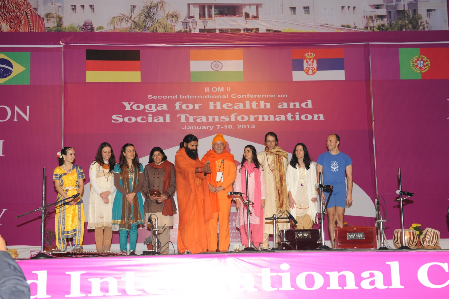 Patañjali Yogapeeth - Yoga for Health and Social Transformation - India, Haridvar - 2013, January