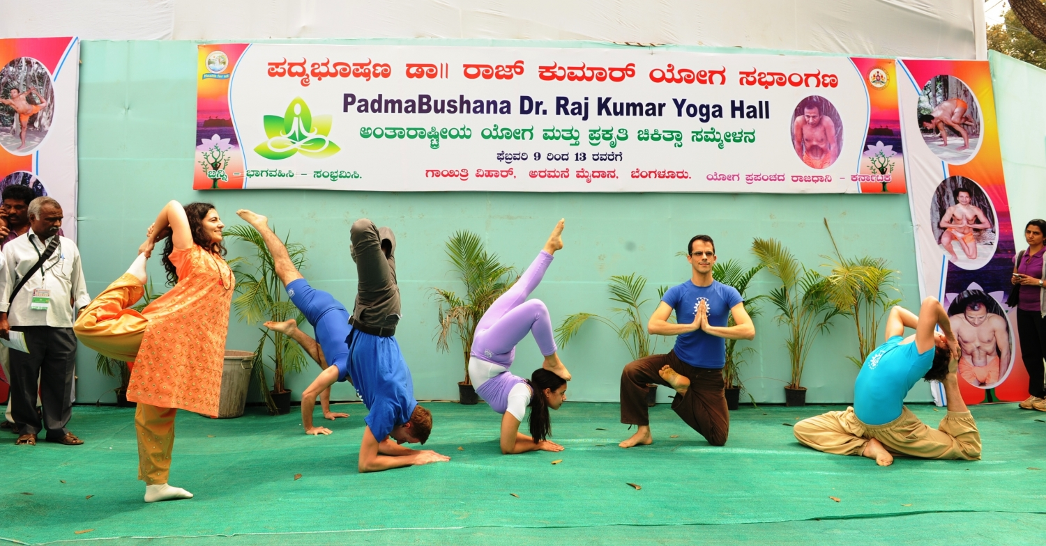 International Conference on Yoga and Naturopathy - Bengaluru, Índia - 2012, Fevereiro