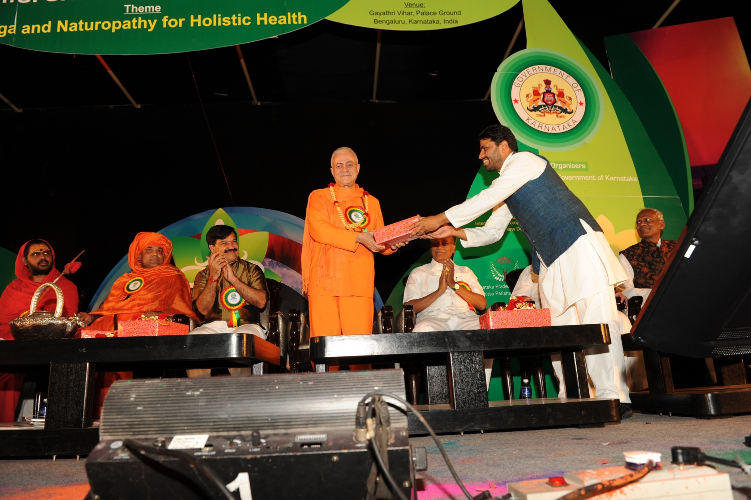 International Conference on Yoga and Naturopathy - Bengaluru, India - 2012, February