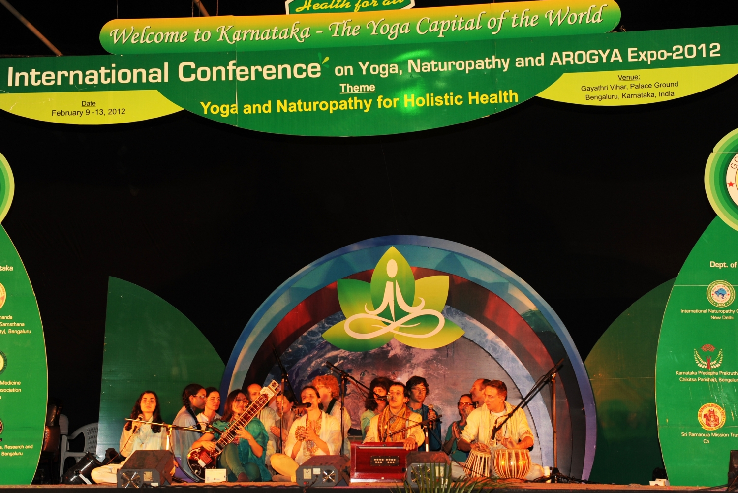 International Conference on Yoga, Naturoathy and AROGY, Bengaluru, 2012