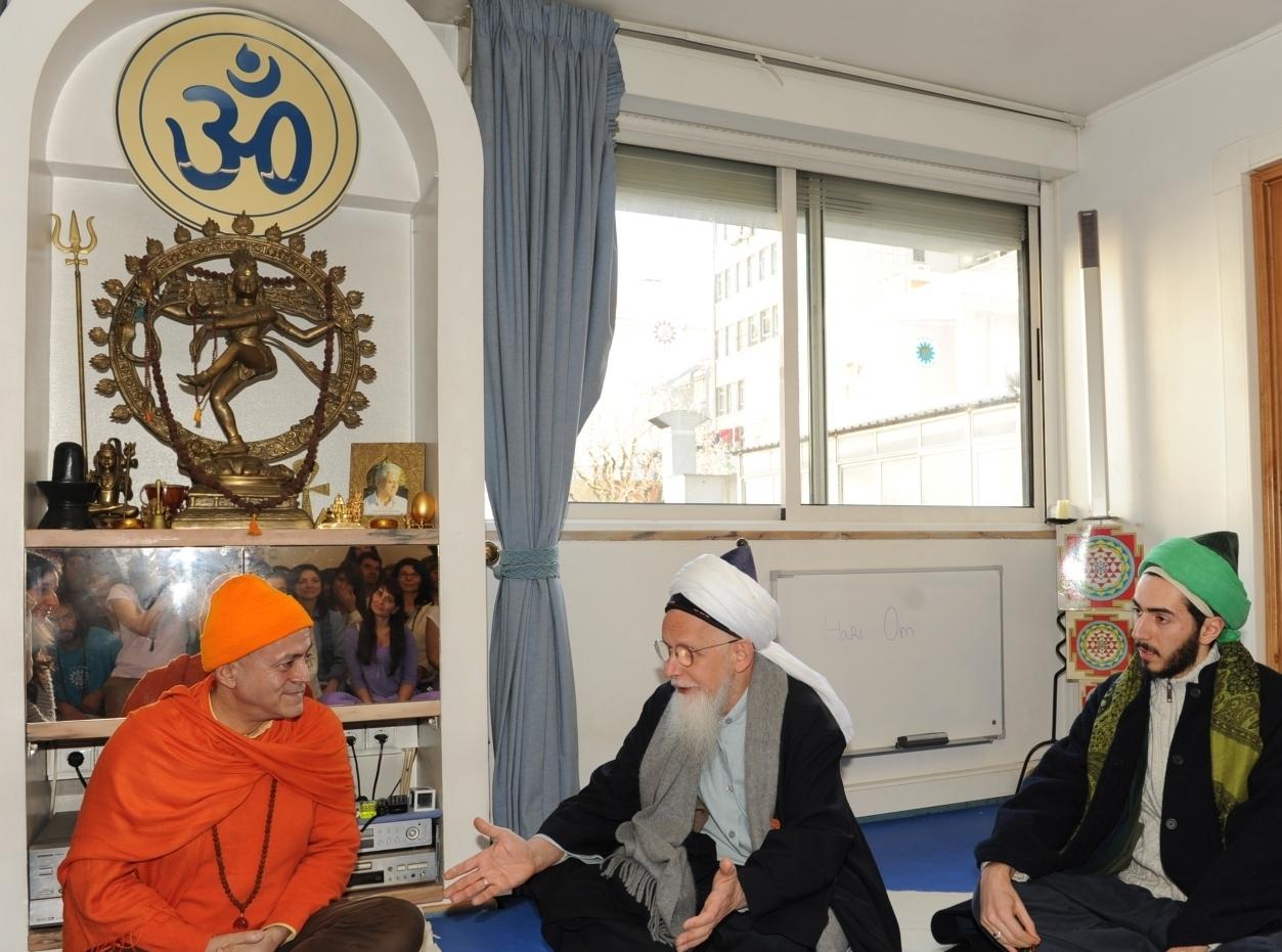 Visita de Shayk Hassan - Responsável pela Ordem Sufi Naqshbandi Sufi na Europa - na Sede da Confederação Portuguesa do Yoga, Lisboa - 2012