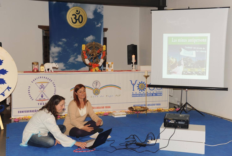 Maestra Amita / Emilia Nacher - FEYS - Federação Espanhola do Yoga Satsanga