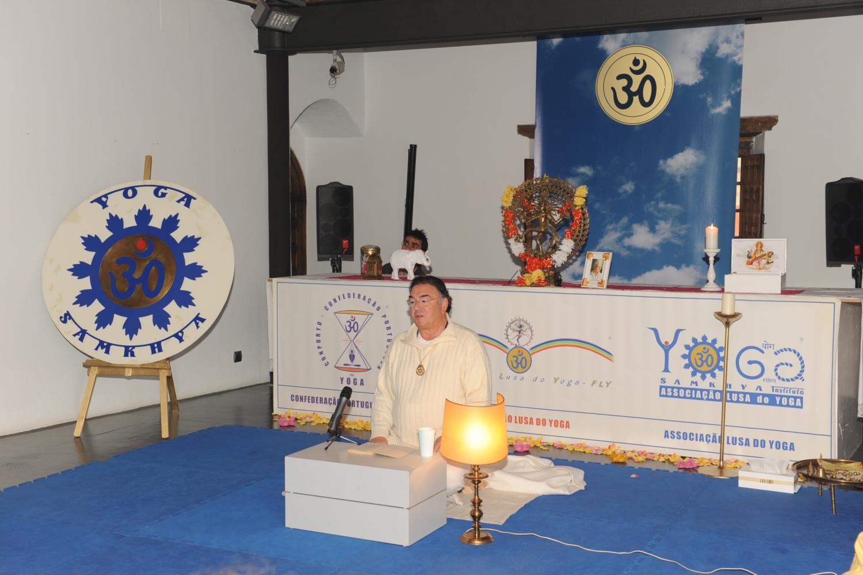 Maestro Madhavacharya - Vice-Presidente da Confederação Ibérica do Yoga e Presidente da Sanatana Dharma