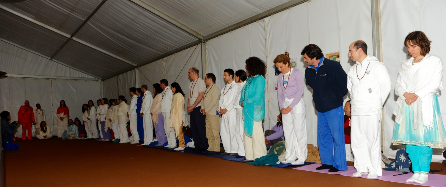The Delegates from the Portuguese Yoga Confederation