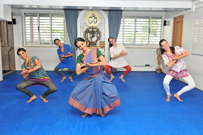 Aulas de Bháratanathyam ministradas pela Kalakshetra Foundation em Portugal, 2015