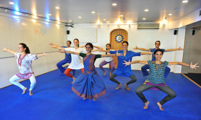 Aulas de Bharat Nathyam ministradas pela Kalakshetra Foundation em Portugal, 2015