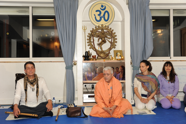 Visita de Rão Kyao na Sede da Confederação Portuguesa do Yoga, Lisboa - 2012