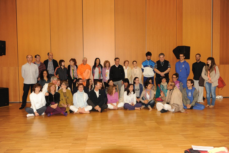 Bienal de Yoga Satsanga 7 - Santander, España - 2012, Maio