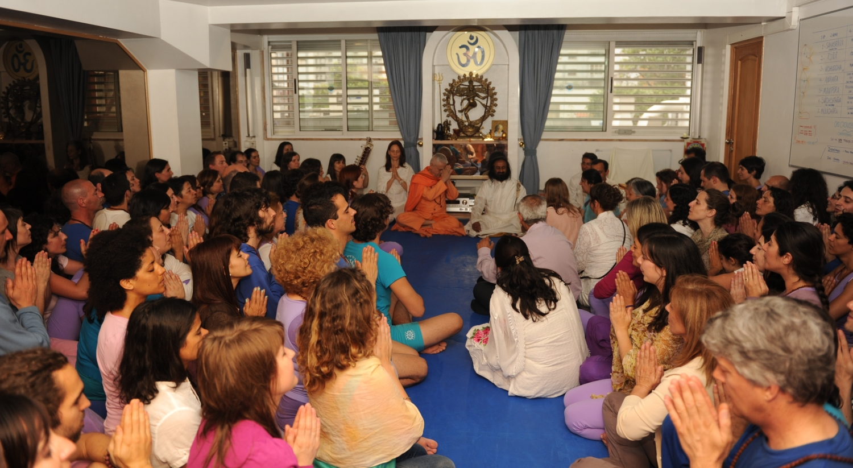 Visita de Shrí Shrí Ravi Shankar na Sede Nacional da Confederação Portuguesa do Yoga