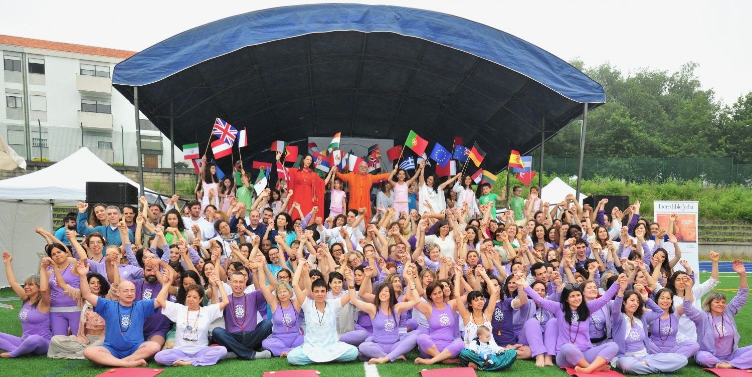 Abertura do Dia Internacional do Yoga 2018