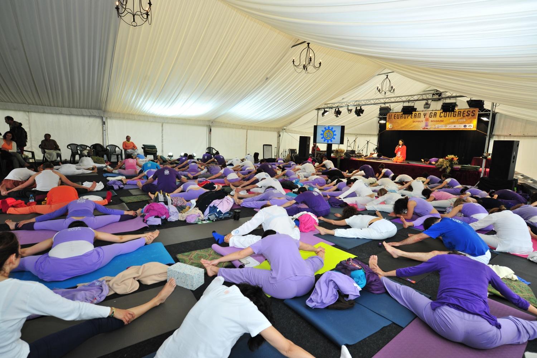 2º Congresso Europeu do Yoga - 2016 - Radhadesh, Bélgica - Mahá Sádhaná