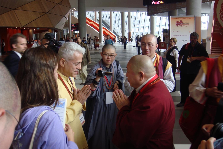 Com Bhagavan Zhi Ji Vimalkirti Xin De WANG - Patriarca da Holy Tantra Jin-Gang-Dhyana Buddhism