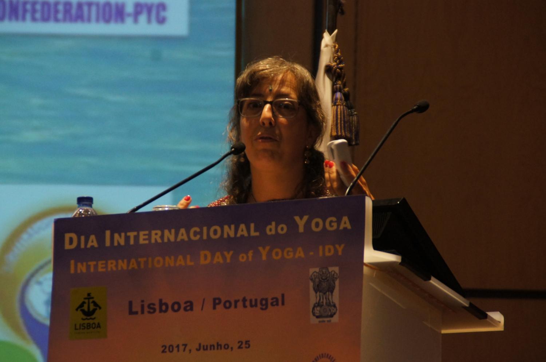 Día del Sámkhya - de la Filosofía y de la Ciencia - 2017 - Conferencia por la Prof.ª Kúrma