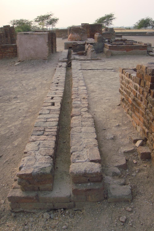 Sítio arqueológico de Lothal, Índia - 2010, Janeiro