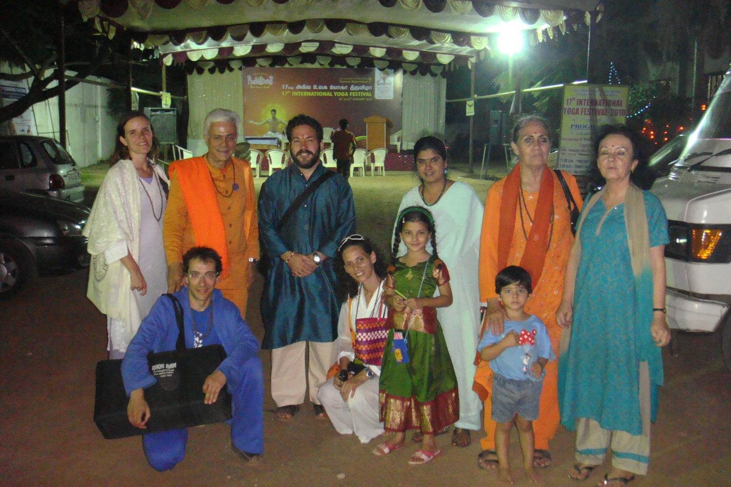 17th International Yoga Festival, Puducherry, Índia - 2010, Janeiro