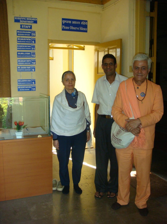 Curso de Ayurveda no Keivalyadhama Yoga Institute, Lonavala, Índia - 2009, Dezembro