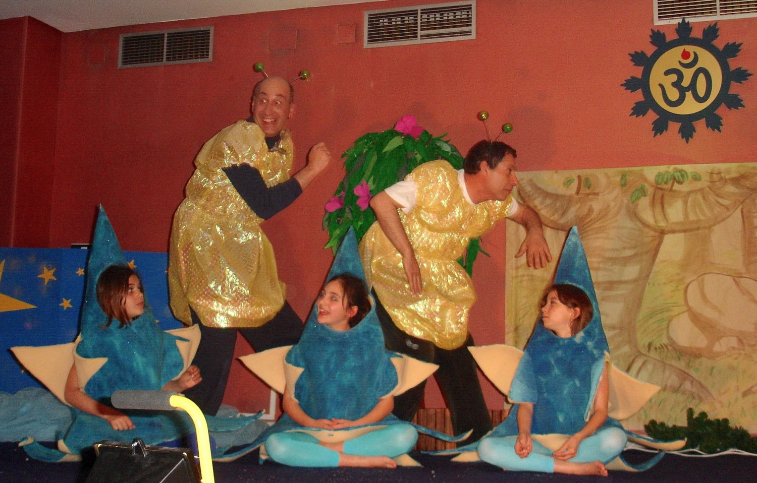 Theatre Play with Children very much necessary to the Adults