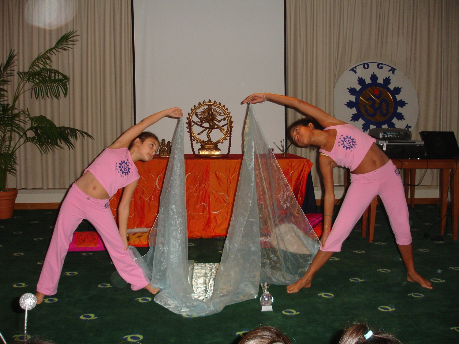 Yoga National Meeting for Children and Yoga Teachers for Children - Quiaios - 2006, November, 10 to 12