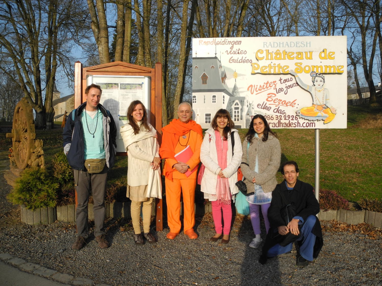 Hindu Forum of Europe - Radhadesh, ISKCON Hare Krshna, Belgium - 2012, March