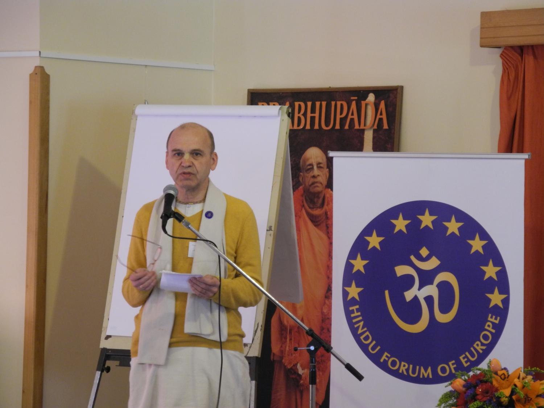 Hrdaya Chaitanya Prabhu - Radhadesh, ISKCON Hare Krshna, Bélgica - 2012, marzo