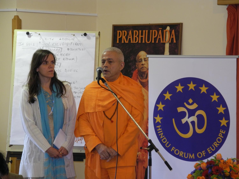Hindu Forum of Europe - Radhadesh, ISKCON Hare Krshna, Belgium - 2012, March