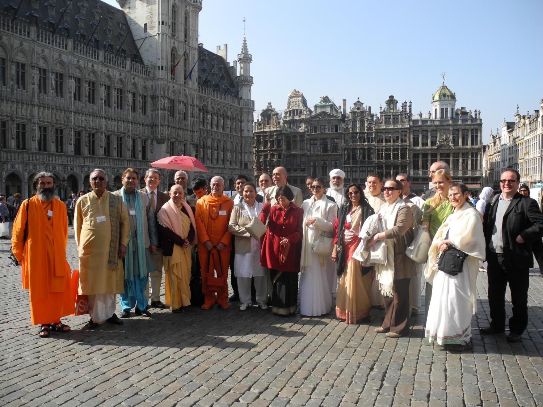 Hindu Forum of Europe - Parlamento Europeu de Bruxelas, Bélgica - 2012, Março