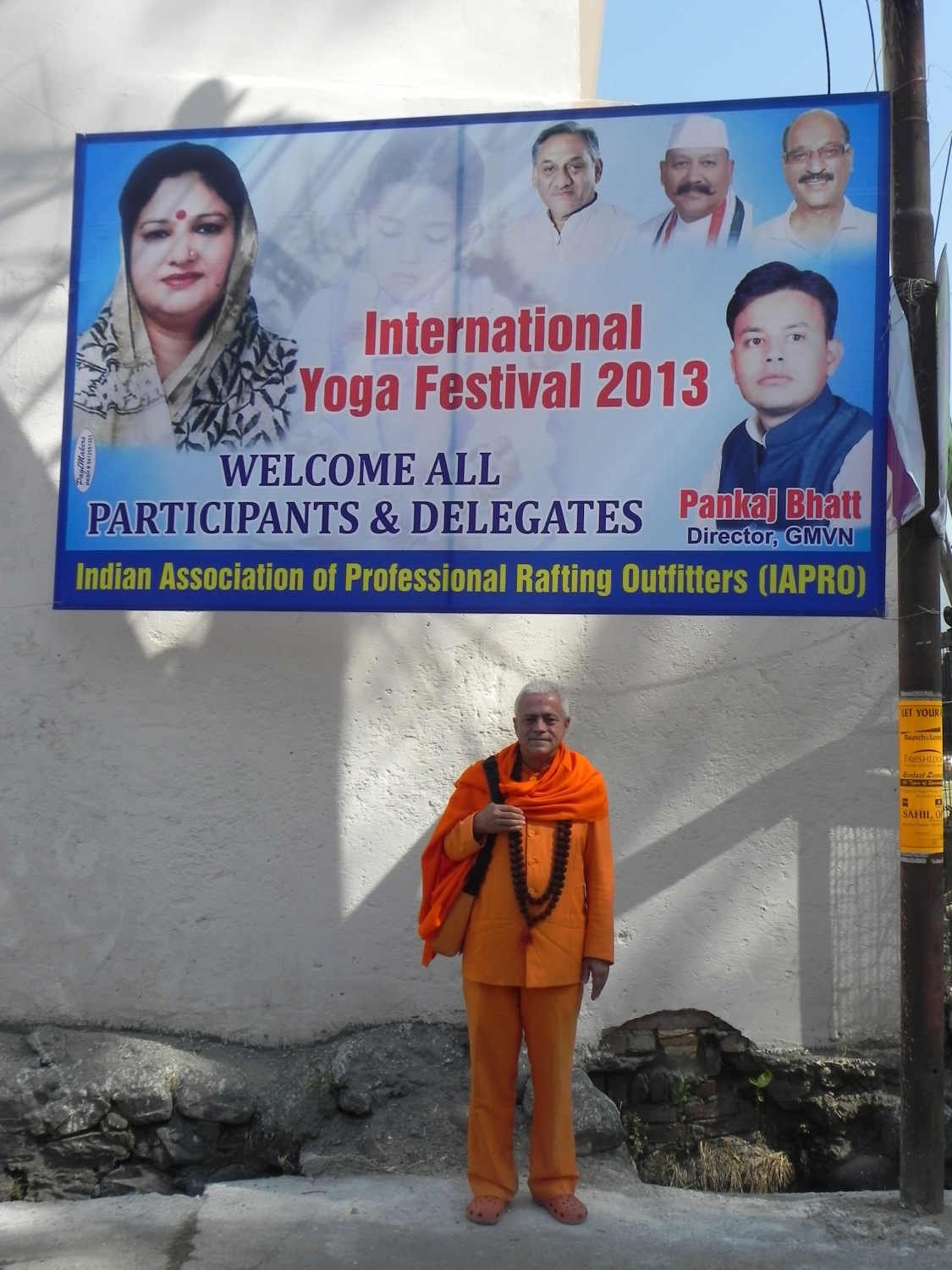 International Yoga Festival - rshikesh, Inde - 2013, mars