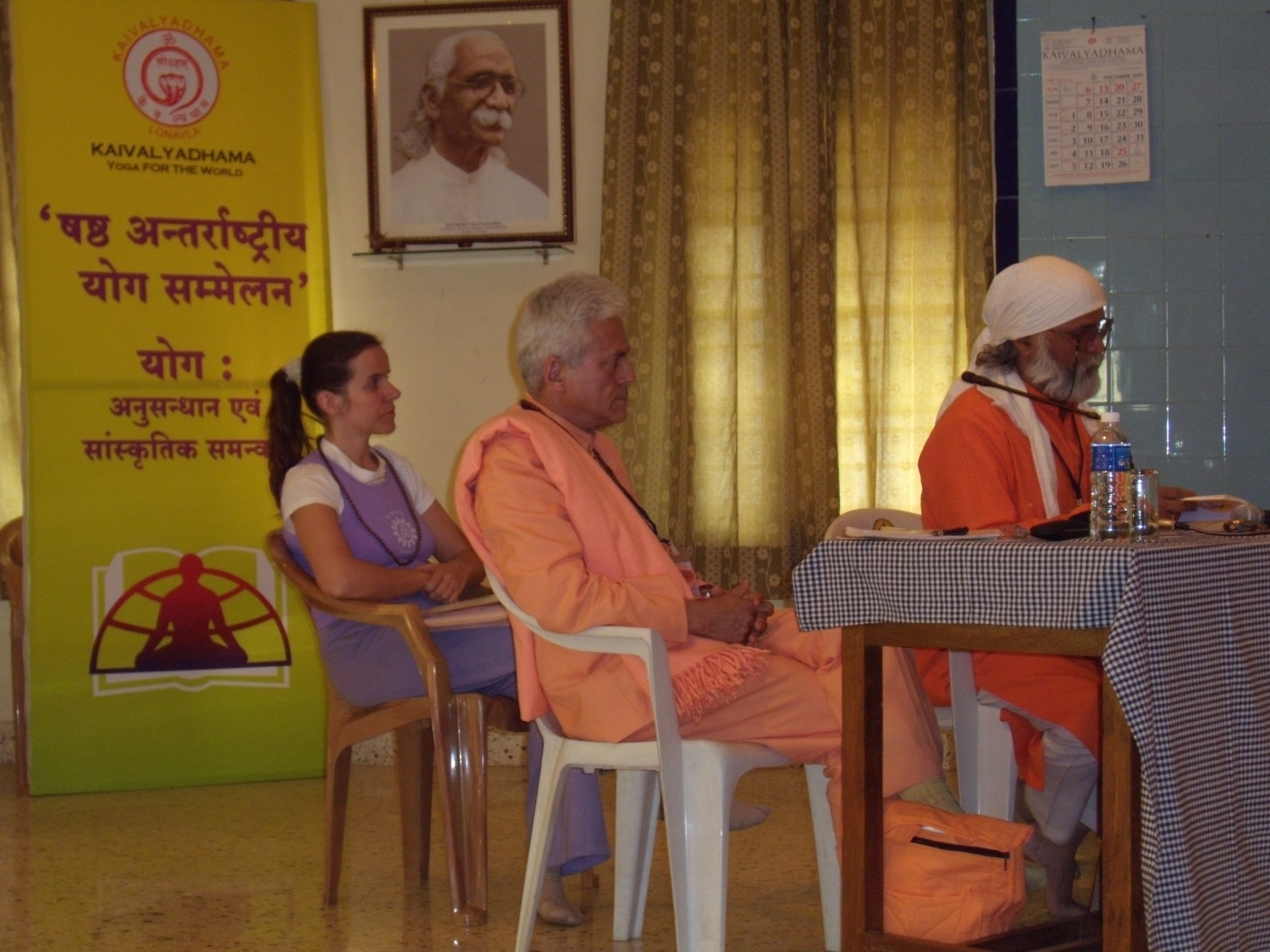 6th International Conference on Yoga, Research and Cultural Synthesis - Keivalyadhama Yoga Institute, Lonavala, Índia - 2009, Dezembro