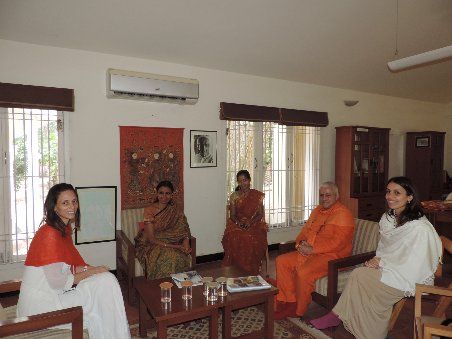 Visit to the Kalakshetra Foundation, India - 2014, January