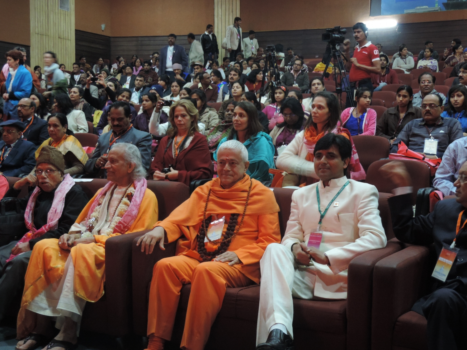 International Yoga Seminar - IYS 2014 INDIA - Ujjein, Índia - 2014, Janeiro - Entrega do Prémio Matsyendra Nathā