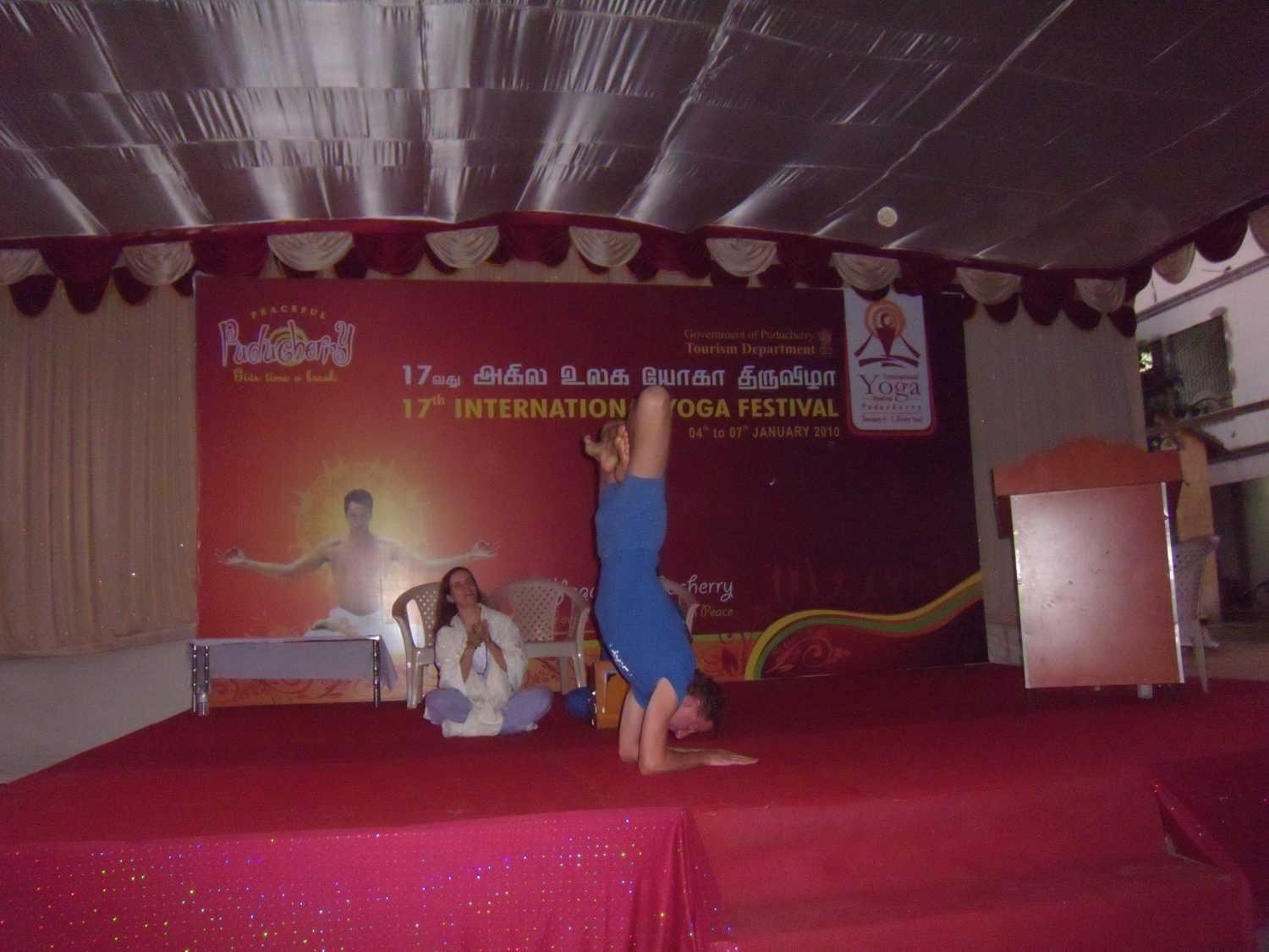 17th International Yoga Festival, Puducherry, Índia - 2010, January