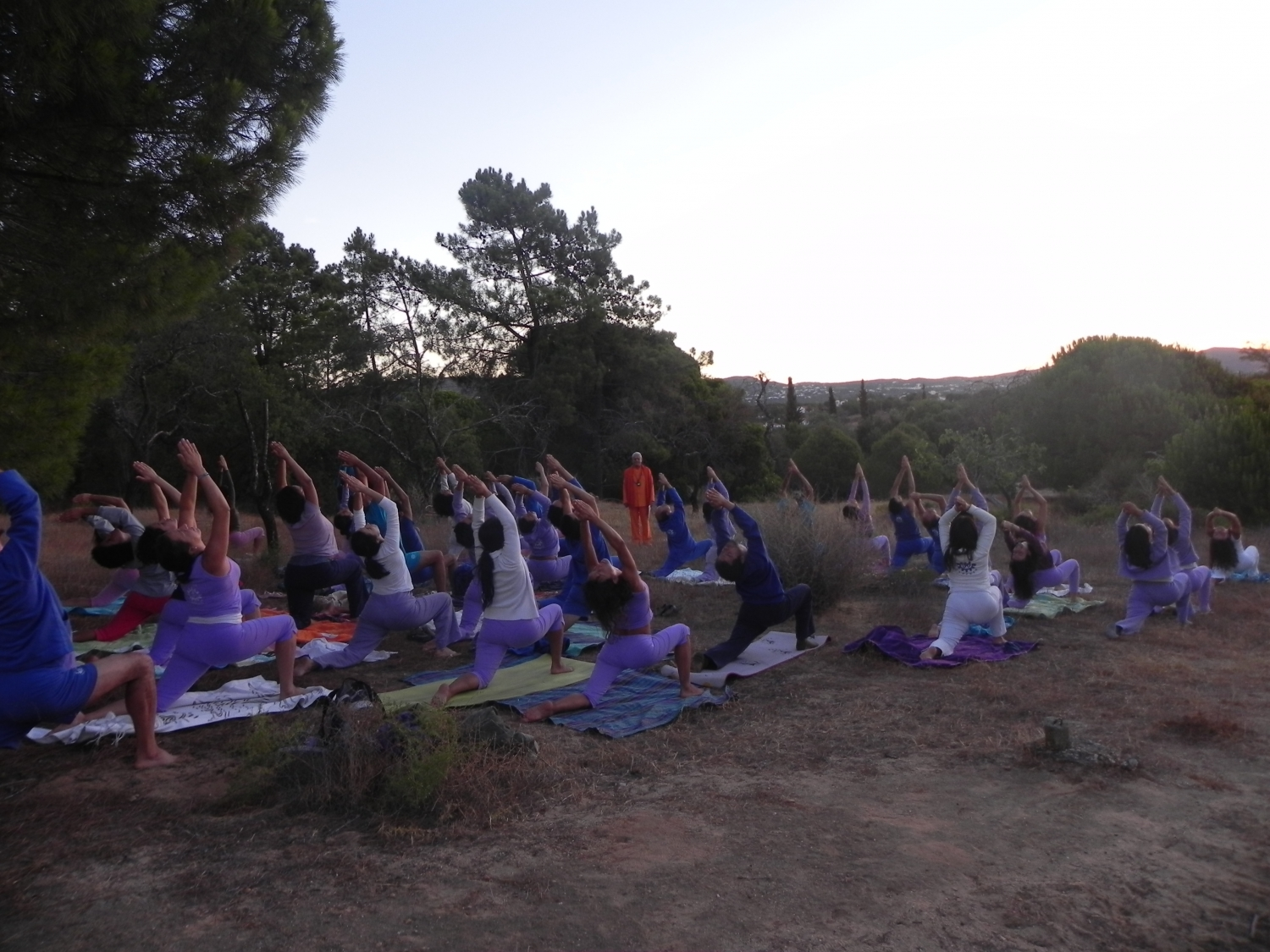 Semana Intensiva do Yoga - 2012 - Quinta da Calma, Algarve