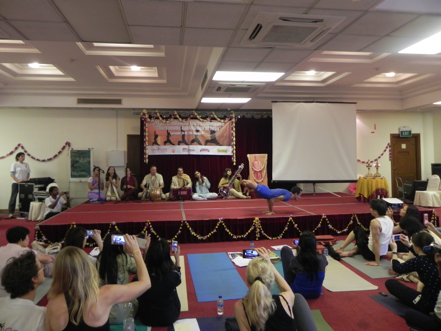 2012 International Yoga Conference, Therapeutic Application of Yoga