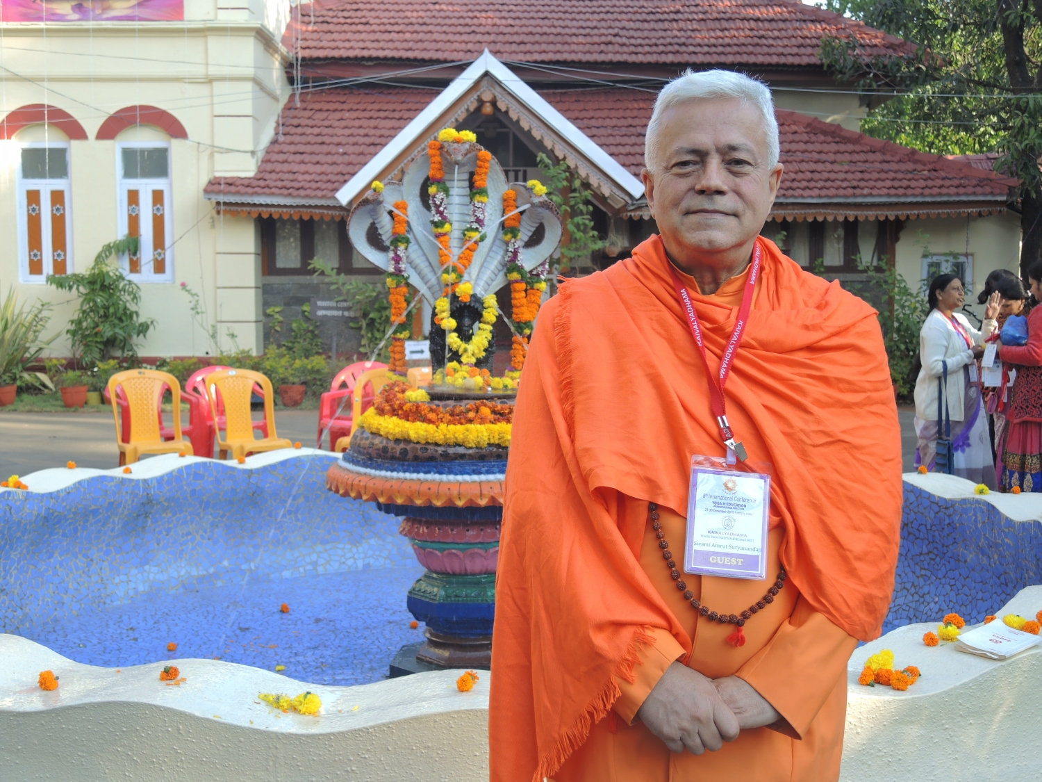 8th International Conference, Yoga & Education, Principles and Practice - Keivalyadhama Yoga Institute, Lonavala, Índia - 2015, Dezembro
