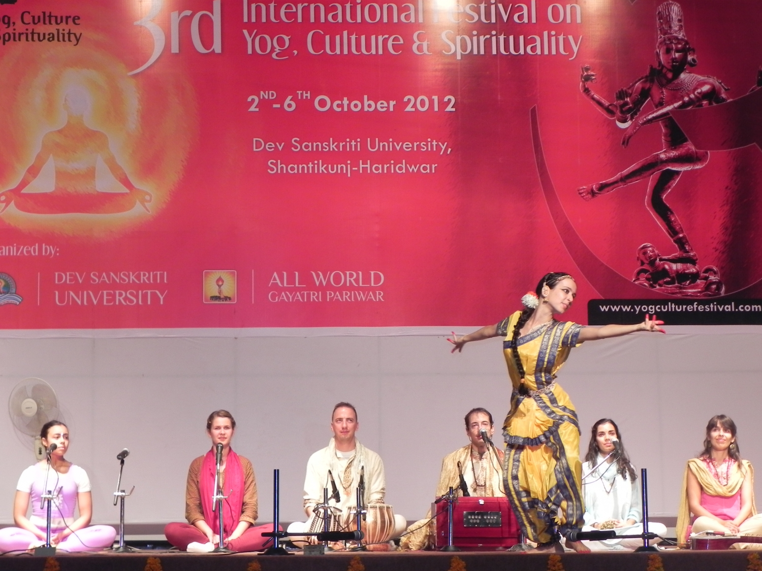 3rd International Festival on Yoga, Culture and Spirituality - Shántikunj Áshrama, Haridvar, 2012