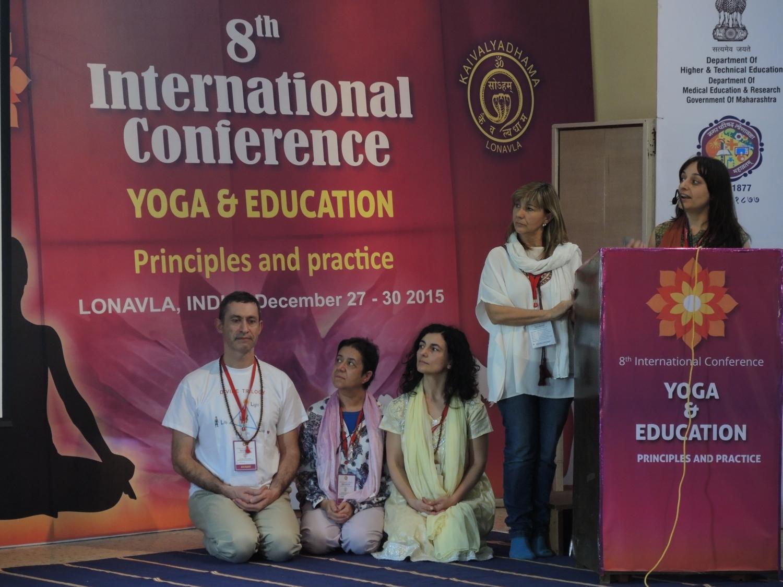 Conferência sobre a implementação do Yoga nas Escolas Portuguesas