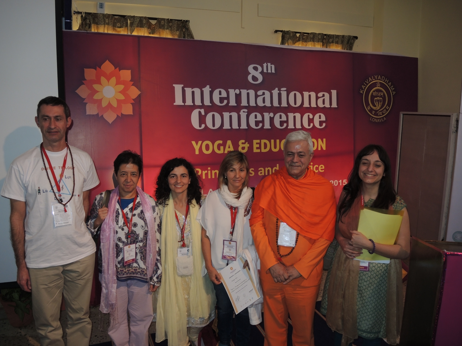Conference about the implementation of Yoga in Portuguese Schools